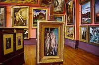 """France, Paris, Musée Gustave Moreau, 14 rue de la Rochefoucauld, """"La Licorne"""" // France, Paris, Gustave Moreau museum """"""""La Licorne"""""""