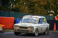 #60 Alan Kitson / Ronald Aspinwall Sunbeam Imp Sport Bolton-le-Moors AJR Elsworth Timber merchants /Impspeedduring Neil Howard Memorial Stage Rally, and opening round of the 2015 Motorsport News Rally Championship.  at Oulton Park, Little Budworth, Cheshire, United Kingdom. November 07 2015. World Copyright Peter Taylor. Copy of publication required for printed pictures.  Every used picture is fee-liable. http://archive.petertaylor-photographic.co.uk