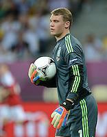 FUSSBALL  EUROPAMEISTERSCHAFT 2012   VORRUNDE Daenemark - Deutschland       17.06.2012 Torwart Manuel Neuer (Deutschland)