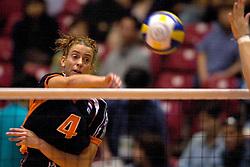 24-06-2000 JAP: OKT Volleybal 2000, Tokyo<br /> Nederland vs Argentinie 3-1 / Erna Brinkman