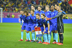 November 14, 2017 - Bucharest, Romania - Netherlands national team pose before the International Friendly match between Romania and Netherlands at National Arena Stadium in Bucharest, Romania, on 14 november 2017. (Credit Image: © Alex Nicodim/NurPhoto via ZUMA Press)