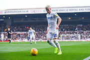 Ezgjan Alioski of Leeds United (10) gets forward during the EFL Sky Bet Championship match between Leeds United and Bolton Wanderers at Elland Road, Leeds, England on 23 February 2019.