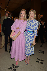 Left to right, ALICE NAYLOR-LEYLAND and EMERALD FENNELL at the V&A Summer Party in association with Harrod's held at The V&A Museum, London on 22nd June 2016.
