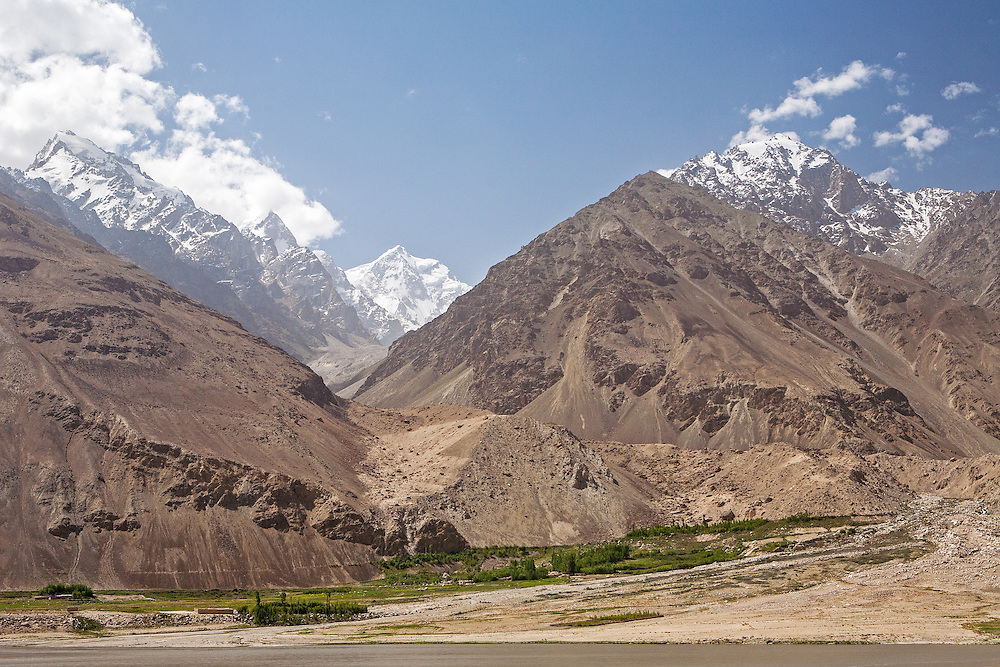 View through Afghanistan to Pakistan Hindu Kush, Wakhan Valley