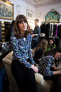 LADY SOPHIA HAMILTON, Hamlton-Paris host a trunk show for Autumn/Wnter 2010. The Connaught. Carlos Place. Mayfair. London W1. 23 March 2010.