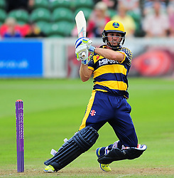 Mark Wallace of Glamorgan in action.  - Mandatory by-line: Alex Davidson/JMP - 24/07/2016 - CRICKET - Cooper Associates County Ground - Taunton, United Kingdom - Somerset v Glamorgan - Royal London One Day