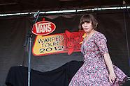 Skinny Lister Vans Warped 2012