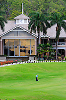 The club house of the Paradise Palms golf course in Port Douglas, far north Queensland, Australia.