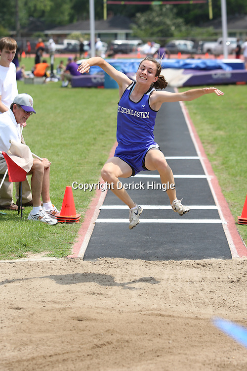 23 April 2008: during the 3A Regional Meet at Sumner High School in Sumner, LA.