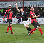 David Clarkson celebrates -  Dundee v St Johnstone, SPFL Premiership at Dens Park<br /> <br />  - &copy; David Young - www.davidyoungphoto.co.uk - email: davidyoungphoto@gmail.com