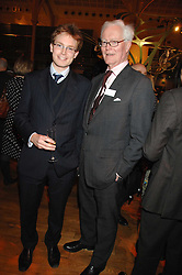 The HON.EDWARD HURD and his father LORD HURD at the Orion Authors Party held at the Royal Opera House, Covent Garden, London on 11th February 2008.<br /><br />NON EXCLUSIVE - WORLD RIGHTS