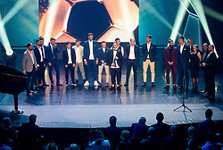 Best players during SPINS XI Nogometna Gala 2019 event when presented best football players of Prva liga Telekom Slovenije in season 2018/19, on May 19, 2019 in Slovene National Theatre Opera and Ballet Ljubljana, Slovenia. Photo by Vid Ponikvar / Sportida
