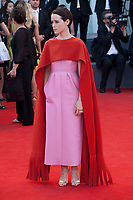 Claire Foy at the First Man Premiere, Opening Ceremony and Lifetime Achievement Award To Vanessa Redgrave at the 75th Venice Film Festival, Sala Grande on Wednesday 29th August 2018, Venice Lido, Italy.