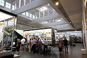 Zeppelinmuseum innen, Friedrichshafen, Bodensee, Baden-Württemberg, Deutschland FREIGABE FÜR REDAKTIONELLE VERWENDUNG