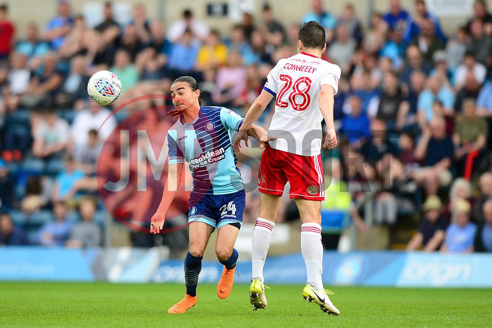 Randell Williams of Wycombe Wanderers - Mandatory by-line: Dougie Allward/JMP - 21/04/2018 - FOOTBALL - Adam's Park - High Wycombe, England - Wycombe Wanderers v Accrington Stanley - Sky Bet League Two