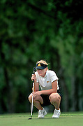 Arizona State's Blair O'Neal during the 2001 Women's NCAA Golf Championships on the El Campeon Course at the Mission Inn Golf and Tennis Resort on May 24, 2001 in Howey-in-the-Hills, Florida.<br /> <br /> <br /> ©2001 Scott A. Miller