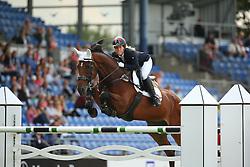 Belova Natalia, (RUS), Upset des Cinq Chenes<br /> Team Competition round 1 and Individual Competition round 1<br /> FEI European Championships - Aachen 2015<br /> © Hippo Foto - Stefan Lafrentz<br /> 19/08/15