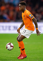 24-03-2019 NED: UEFA Euro 2020 qualification Netherlands - Germany, Amsterdam<br /> Netherlands lost the match 3-2 in the last minute / Quincy Promes #11 of The Netherlands