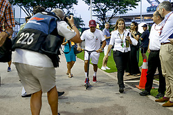 September 13, 2018 - Singapore, Singapore - Motorsports: FIA Formula One World Championship 2018, Grand Prix of Singapore, .#44 Lewis Hamilton (GBR, Mercedes AMG Petronas Motorsport) (Credit Image: © Hoch Zwei via ZUMA Wire)