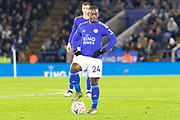Nampalys Mendy (24)  during the The FA Cup match between Leicester City and Wigan Athletic at the King Power Stadium, Leicester, England on 4 January 2020.
