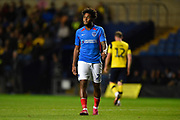 Ellis Harrison (22) of Portsmouth during the Leasing.com EFL Trophy match between Oxford United and Portsmouth at the Kassam Stadium, Oxford, England on 8 October 2019.