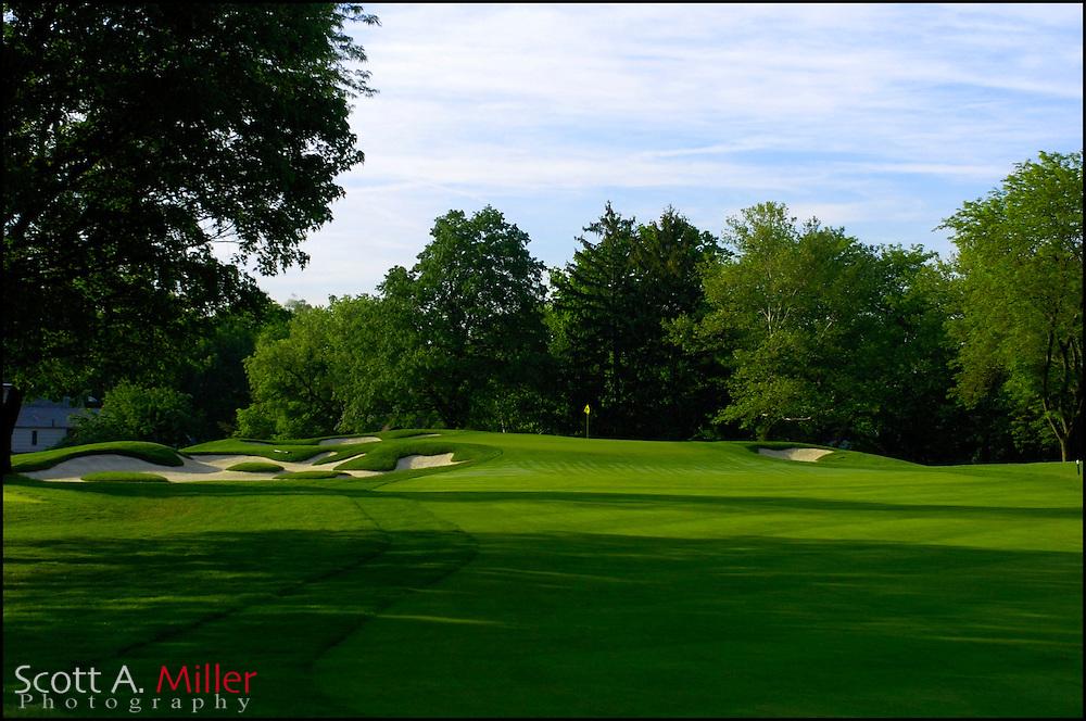 Columbus, Ohio.; May 24, 2006 - 1st hole at Scioto Country Club Columbus, Ohio...                ©2006 Scott A. Miller