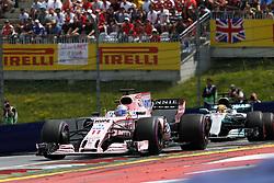 July 9, 2017 - Spielberg, Austria - Motorsports: FIA Formula One World Championship 2017, Grand Prix of Austria, ..#11 Sergio Perez (MEX, Sahara Force India F1 Team) (Credit Image: © Hoch Zwei via ZUMA Wire)