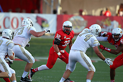 03 September 2016:  Alejandro Rivera. NCAA FCS Football game between Valparaiso Crusaders and Illinois State Redbirds at Hancock Stadium in Normal IL (Photo by Alan Look)