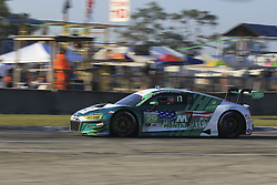 March 15, 2019 - Sebring, UNITED STATES OF AMERICA - 29 MONTAPLAST BY LAND MOTORSPORT (USA) AUDI R8 LMS GT3 GTD DANIEL MORAD (CAN) CHRISTOPHER MIES (CAN) RICARDO FELLER  (Credit Image: © Panoramic via ZUMA Press)