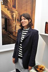 BELLA FREUD at the Moet Hennessy Pavilion of Art & Design London Prize 2009 held in Berkeley Square, London on 12th October 2009.