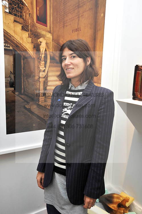 BELLA FREUD at the Moet Hennessy Pavilion of Art & Design London Prize 2009 held in Berkeley Square, London on 12th October 2009.