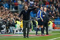 Real Sociedad´s coach Eusebio Sacristan during La Liga match between Real Madrid and Real Sociedad at Santiago Bernabeu stadium in Madrid, Spain. December 30, 2015. (ALTERPHOTOS/Victor Blanco)