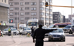 South Africa - Durban -  28 May 2020 -  The police and other law enforcement agencies have successfully participated in manning various anti-crime vehicle checkpoints (VCPs) and roadblocks. Picture Leon Lestrade/African News Agency(ANA).