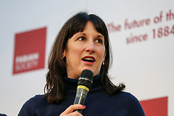 © Licensed to London News Pictures. 18/01/2020. London, UK. Labour Party Member of Parliament for Leeds West RACHEL REEVES at the Fabian Society New Year conference in central London. . Photo credit: Dinendra Haria/LNP