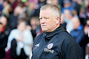 Sheffield Utd manager Chris Wilder before  the EFL Sky Bet Championship match between Sheffield United and Bristol City at Bramall Lane, Sheffield, England on 30 March 2019.