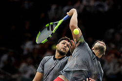 October 30, 2018 - France - Rolex Masters Paris 2018 -Jo Wilfried Tsonga - France (Credit Image: © Panoramic via ZUMA Press)