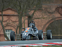 #42 Christopher STONES Van Diemen RF88  during Avon Tyres Formula Ford 1600 Northern Championship - Pre 90 as part of the BRSCC Oulton Park Season Opener at Oulton Park, Little Budworth, Cheshire, United Kingdom. March 24 2018. World Copyright Peter Taylor/PSP.