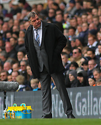 West Ham Manager, Sam Allardyce reacts - Photo mandatory by-line: Mitchell Gunn/JMP - Mobile: 07966 386802 - 22/02/2015 - SPORT - football - London - White Hart Lane - Tottenham Hotspur v West Ham United - Barclays Premier League