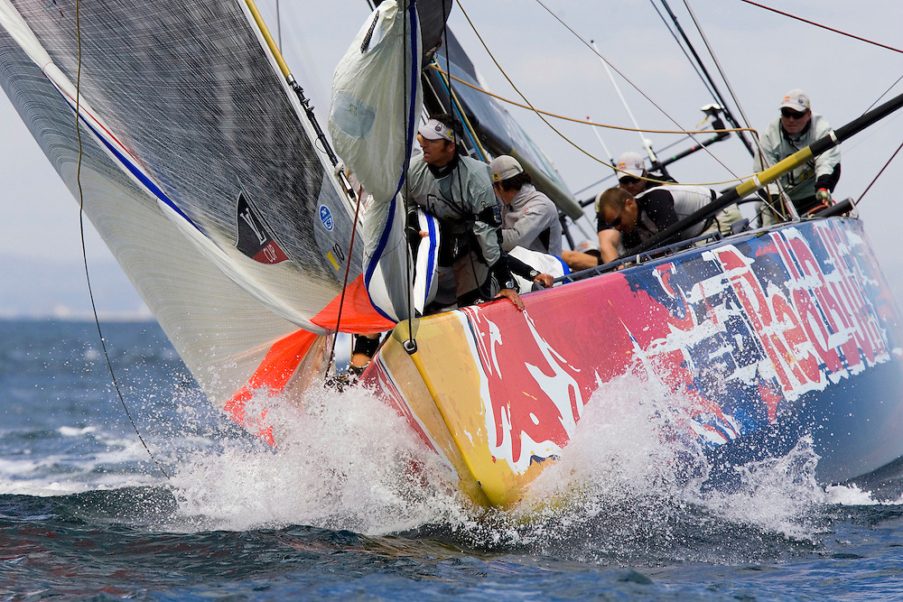 Valencia, SPAIN, Louis Vuitton Cup, Round Robin 2, Flight 5.Victory Challenge (SWE)
