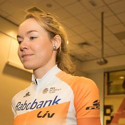 PAPENDAL (NED) wielrennen<br /> Het Rabobank-Liv vrouwenteam en het Developmentteam werden op Papendal voorgesteld. Anna van der Breggen wil ook in Rio scoren