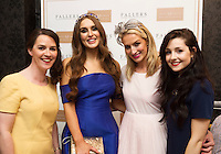 Noreen Darcy, with Model Rozanna Purcell, Julie Ann  and Raceh from D'Arcy Marketing at the 4 star Hotel Meyrick's Most Stylish Lady competition, for Ladies Day Galway Race week 2015, Judges were by leading Irish Model Rozanna Purcell,  Mandy Maher Catwalk Models and Mary Lee , Model The winners received an amazing €2,000 prize package from Fallers of Galway . Photo:Andrew Downes, xposure
