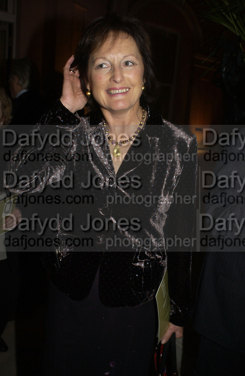 ( Lady?) Rachel Billington. Dancing To the Music of Time- The Life and Work of Anthony Powell. The Wallace Collection. Manchester Sq. London. November 2, 2005 in London,. ONE TIME USE ONLY - DO NOT ARCHIVE © Copyright Photograph by Dafydd Jones 66 Stockwell Park Rd. London SW9 0DA Tel 020 7733 0108 www.dafjones.com