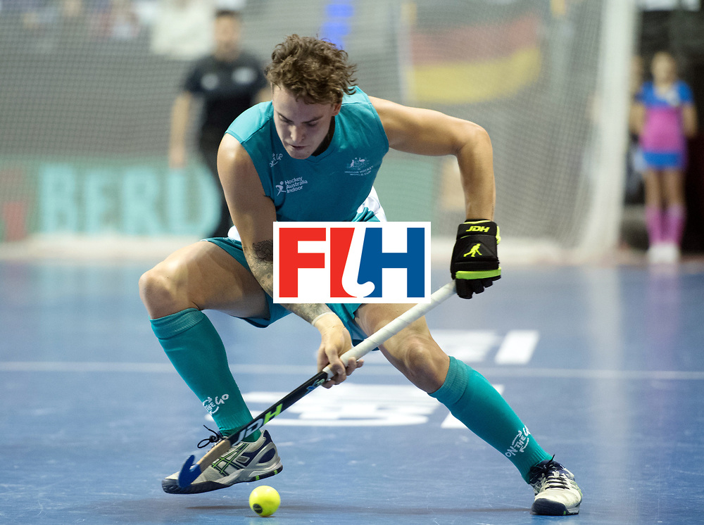 BERLIN - Indoor Hockey World Cup<br /> Bronze: Iran - Australia<br /> foto: Jack Hayes <br /> WORLDSPORTPICS COPYRIGHT FRANK UIJLENBROEK