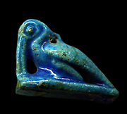 Egyptian Ibis in Faience. Circa First millennia BC