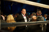 Picture by Alan Stanford/Focus Images Ltd +44 7915 056117<br /> 16/11/2013<br /> Tyson Fury attends the James Degale v Dyah Davis the <br /> WBC super-middleweight title at Glow Bluewater, Greenhithe.