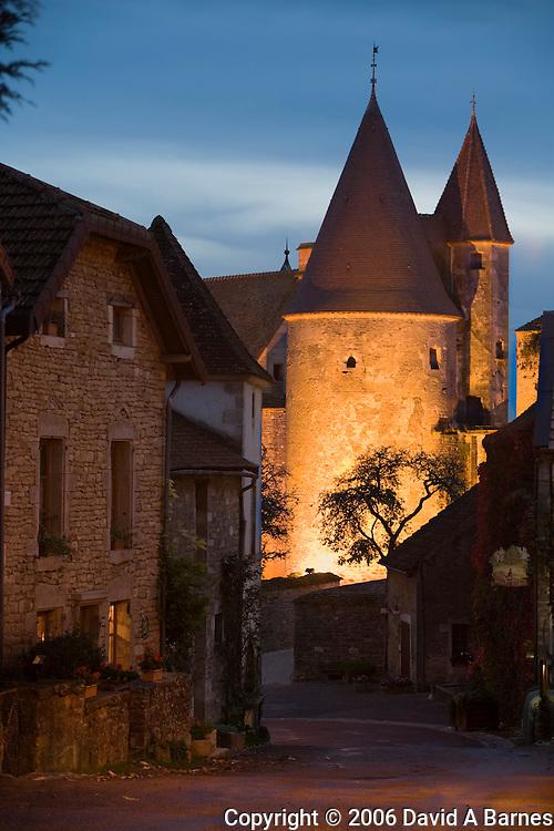 Chateauneuf en Auxois, Cote d'Or, Burgundy, France