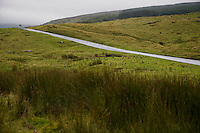 Rural road in Yorkshire Dales Yorkshire England