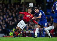 Football - 2018 / 2019 Emirates FA Cup - Fifth Round: Chelsea vs. Manchester United <br /> <br /> Cesar Azpilicueta (Chelsea FC)  and Alexis Sanchez (Manchester United) compete for the ball at Stamford Bridge<br /> <br /> COLORSPORT/DANIEL BEARHAM