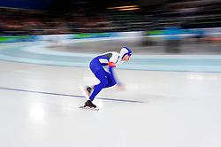 Olympic Winter Games Vancouver 2010 - Olympische Winter Spiele Vancouver 2010, Speed Skating (Men's 500 m), Eisschnelllauf, Tuomas Nieminen of Finland competes in the men's 500 meter speed skating competition at the Richmond Olympic Oval in Vancouver BC, Canada during the 2010 Winter Olympics Monday February 15, 2010. Mo won the gold medal. Nieminen placed 27th.Photo by newsport / HOCH ZWEI / SPORTIDA.com..... *** Local Caption *** +++ www.hoch-zwei.net +++ copyright: HOCH ZWEI / newsport +++