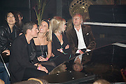 DAVE GARDNER; DAVINIA TAYLOR; JO WOOD, HAROLD TILLMAN. The Pirate Provocateur Extravaganza launch party for the new Agent Provocateur Winter collection and for the release of Dirty Stop Out's new album 'Cuntro Classics' at KOKO. Campden. London. 13 November 2008 *** Local Caption *** -DO NOT ARCHIVE-© Copyright Photograph by Dafydd Jones. 248 Clapham Rd. London SW9 0PZ. Tel 0207 820 0771. www.dafjones.com.